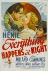 Everything Happens at Night Posteri