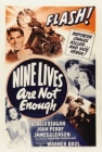 Nine Lives Are Not Enough Posteri