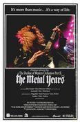 The Decline of Western Civilization Part II: The Metal Years Posteri