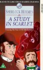 Sherlock Holmes and a Study in Scarlet Posteri