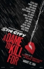 Sin City: A Dame to Kill For Posteri