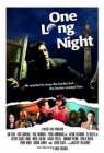 One Long Night Posteri