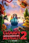 Cloudy with a Chance of Meatballs 2 Posteri