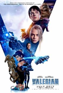 Valerian and the City of a Thousand Planets Posteri
