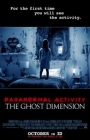 Paranormal Activity: The Ghost Dimension Posteri