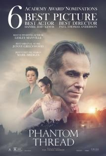 Phantom Thread Posteri