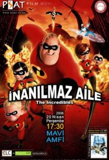 The Incredibles posteri