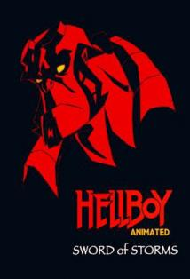 Hellboy Animated: Sword of Storms posteri
