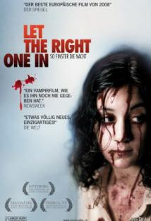 Let the Right One In posteri