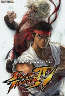 Street Fighter IV: The Ties That Bind posteri