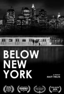 Below New York posteri
