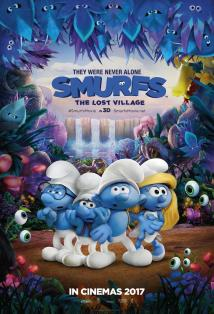 Smurfs: The Lost Village posteri