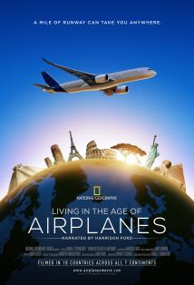 Living in the Age of Airplanes posteri