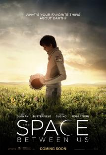 The Space Between Us posteri